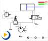 液压动画---换向回路2