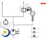 液压动画---减压回路