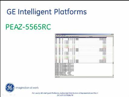 GE智能平台-PEAZ-5565RC