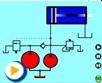 液压动画---双泵供油