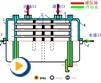 液压动画---水冷却器
