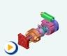 液压动画---限压式变量叶片泵