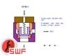 液压动画---液控单向阀