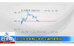 汇川技术1.1亿元收购宁波伊士通四成股权-gongkong《行业快讯》2013年第14期(总第79期)