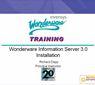 Wonderware Information Server 3.0安装培训视频