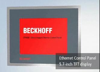 以太网接口经济型控制面板CP6608_倍福系列在线教程