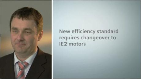 Changeover to IE2 motors