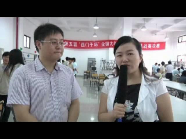 闭幕式采访3-访中国系统仿真学会理事张贝克教授