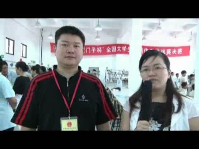 闭幕式采访8-访西门子工业自动化集团高校教育合作负责人范俊先生
