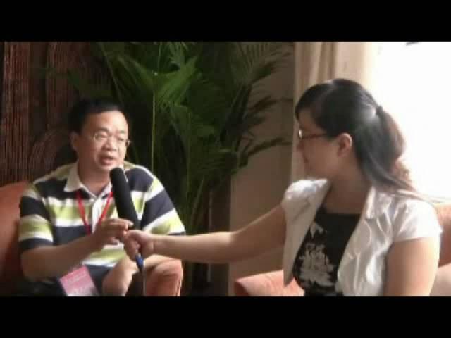 闭幕式采访5-访中国科学院自动化所北京三博公司总裁、研究员林红权先生