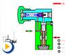 液压动画---低压溢流阀