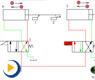 液压动画---行程开关控制的快慢速换接回路